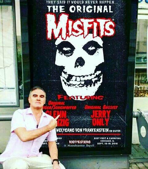 #Morrissey #RiotFest #Chicago