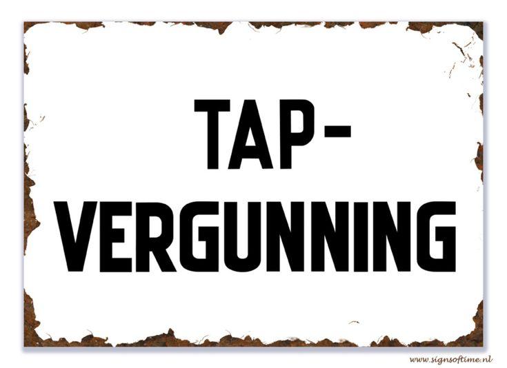 Tap-Vergunning | Bier | Signs of Time