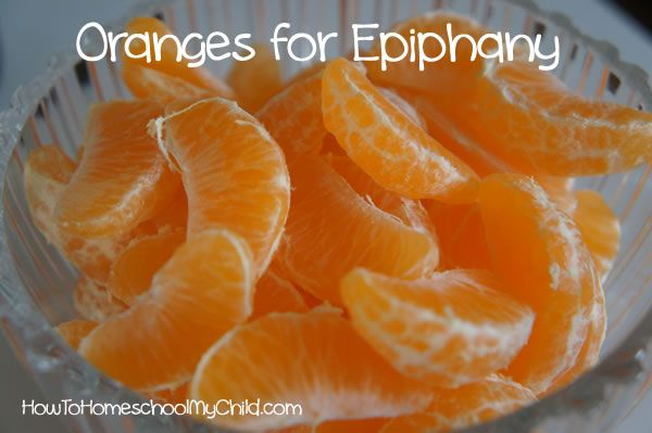 Italian feast of the Epiphany - yummy!  oranges symbolize light of Christ