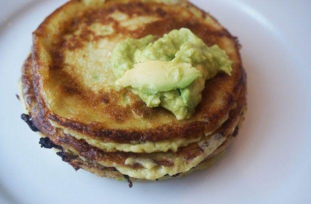 Advocado-pancakes