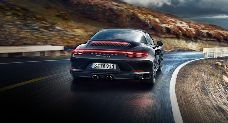 The Porsche 911 Targa 4S Flexes its Muscle on the Road - SVpicks