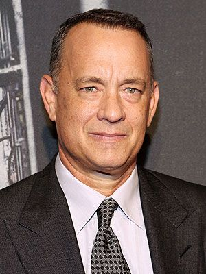 Tom Hanks - American Actor.  Book - A World Lit Only By Fire by William Manchester. Luxury. 08-05-2016.