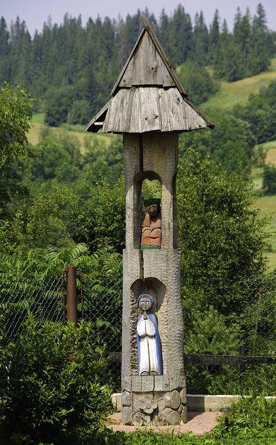 Beauty of tradition; Bukowina Tatrzanska, Poland