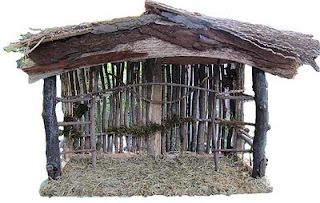 dk Art and Stuff: Creche How-To Make a Nativity Stable