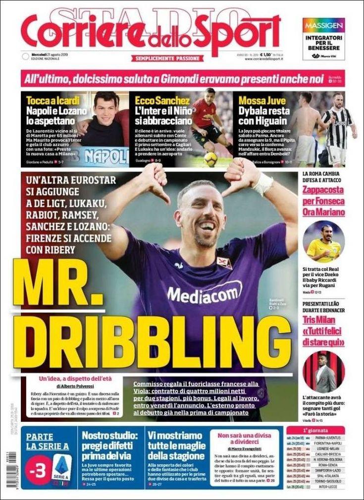 Corriere dello Sport (21 de agosto de 2019) 21 de agosto