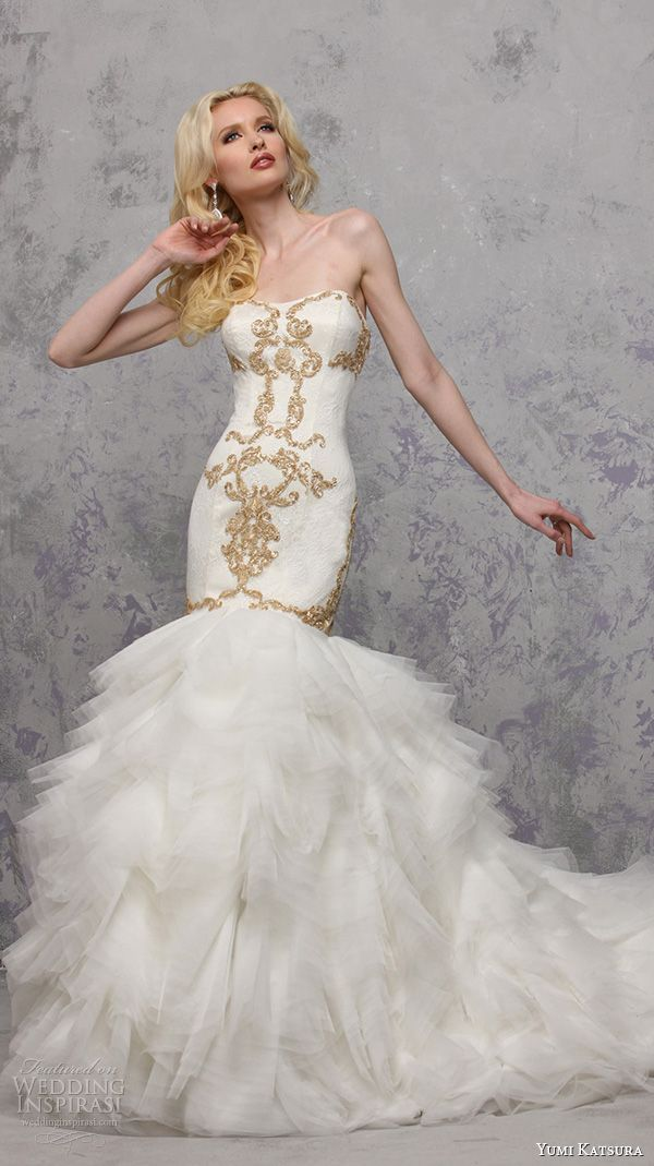 Perfect Yumi Katsura Spring Wedding Dresses