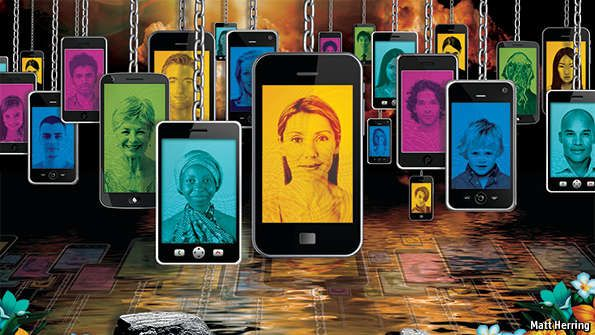 Telecoms and society: The truly personal computer | The Economist