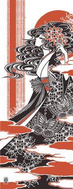 """作家手拭 """"蝶"""" by ワカマツカオリ(Kaori Wakamatsu) - FEWMANY ONLINE SHOP"""