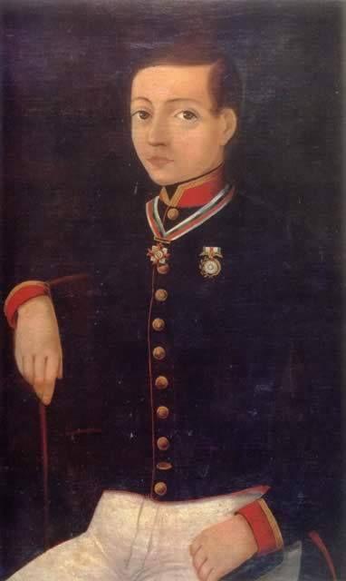 Un día como hoy pero en 1827: nace Juan Escutia, uno de los niños héroes mexicanos, muerto en la batalla de Chapultepec. #Efemérides