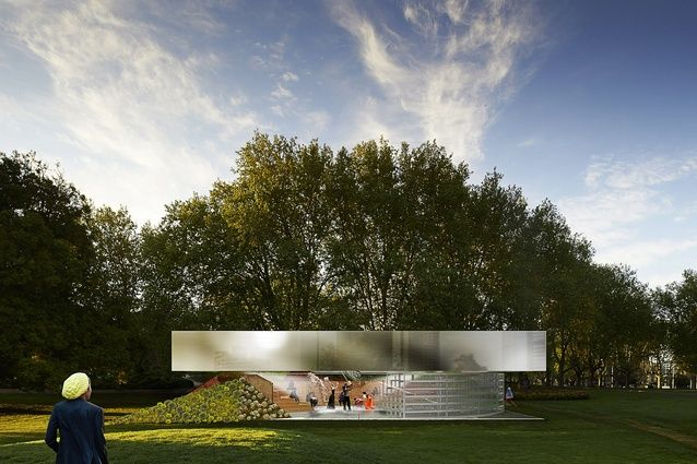Rem Koolhaas and David Gianotten of OMA hope their 2017 MPavilion project will provoke discussion and inject intensity into Australian society.