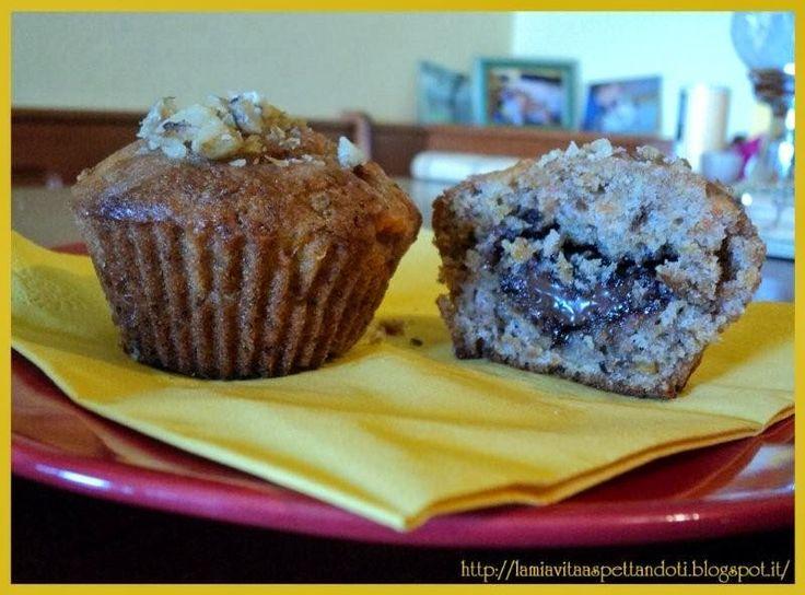 """Muffin dal cuore """"d'oro"""""""