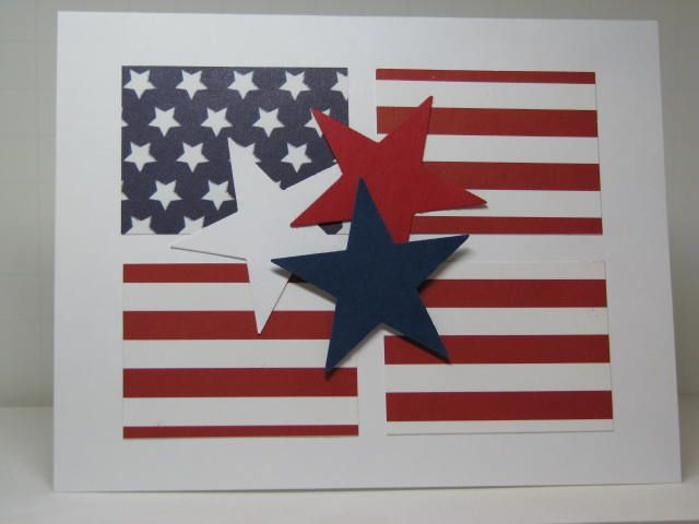 Stars & Stripes, Baby! by Kelly H - Cards and Paper Crafts at Splitcoaststampers