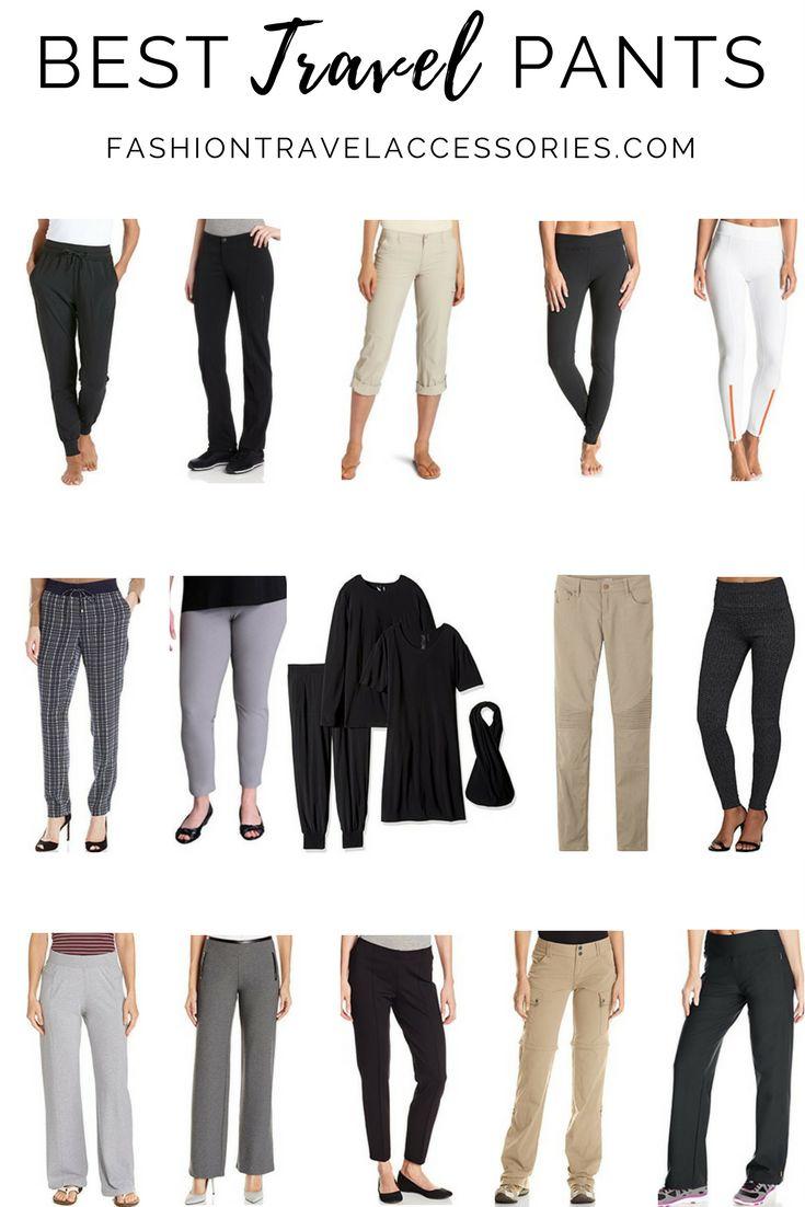 best lightweight travel pants | Yoktravels.com