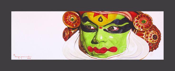 """""""Kathakali Dancer"""" by Jeyaprakash M"""