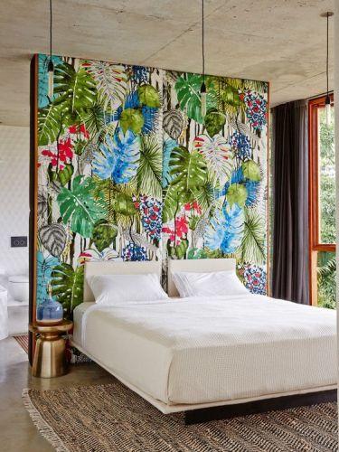dcoration chambre jungle tropicale