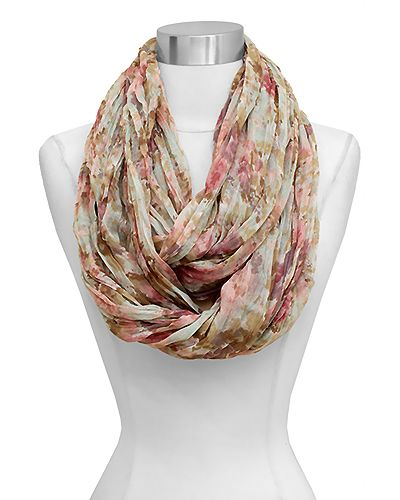 Jeanne Infinity Scarf in Natural Beauty | Awesome Selection of Chic Fashion Jewelry | Emma Stine Limited