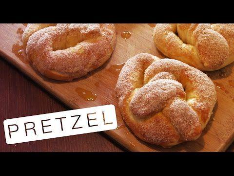 Como Fazer Pretzels - Faça em casa | Receita Facil - YouTube
