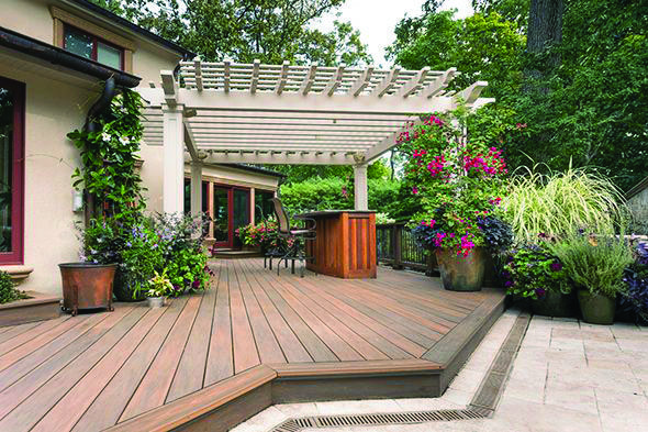 Floating Deck Style Concepts Patio Decks Backyard Floating