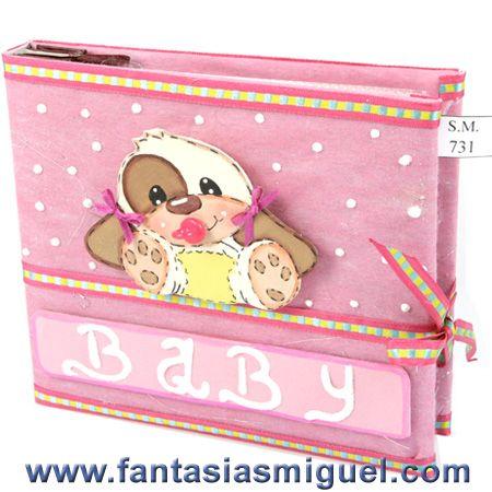 Album Baby Shower Fiusha - Como Hacer Manualidades - Fantasias Miguel