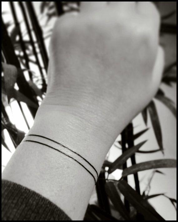 Armband tattoo wristband tattoo temporary by SharonHArtDesigns