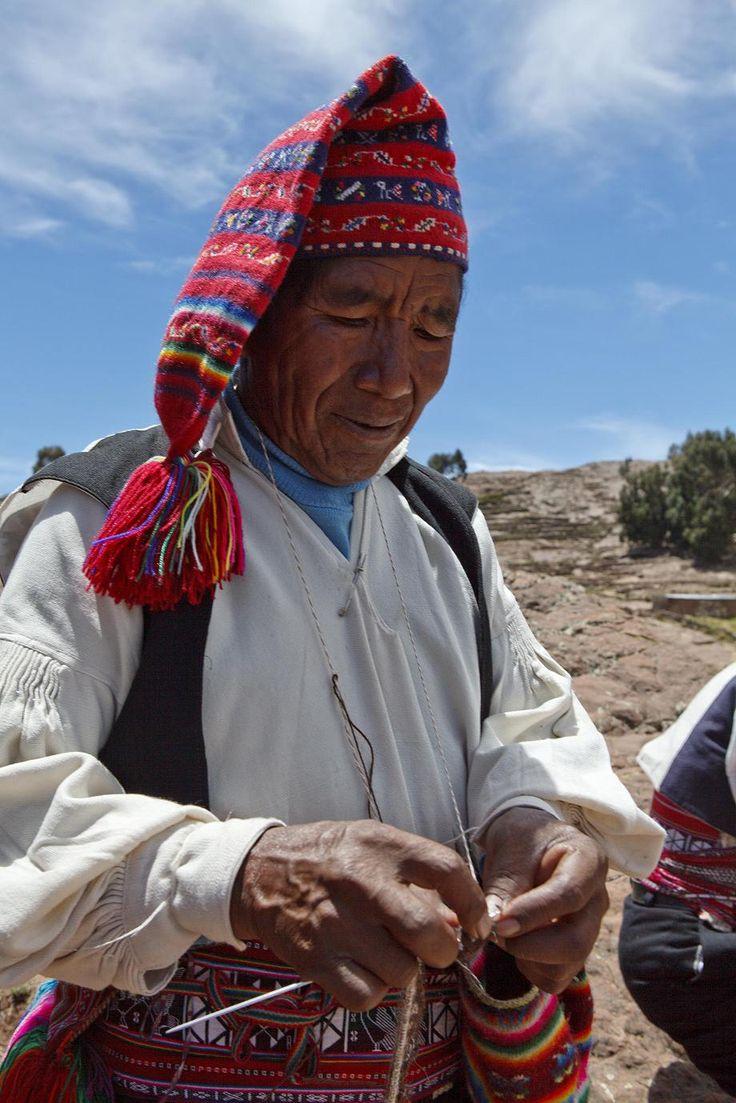 Taquile wurde in Peru, Puno aufgenommen und hat folgende Stichwörter: Peru,  Puno,  Titicaca-See. http://www.miviajedepromocion.com/
