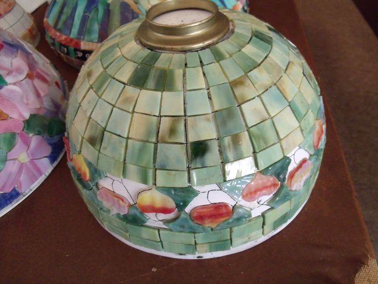 By odyssey lamp systems tiffany lampsleaf designstained glass mosaicspendantsstained