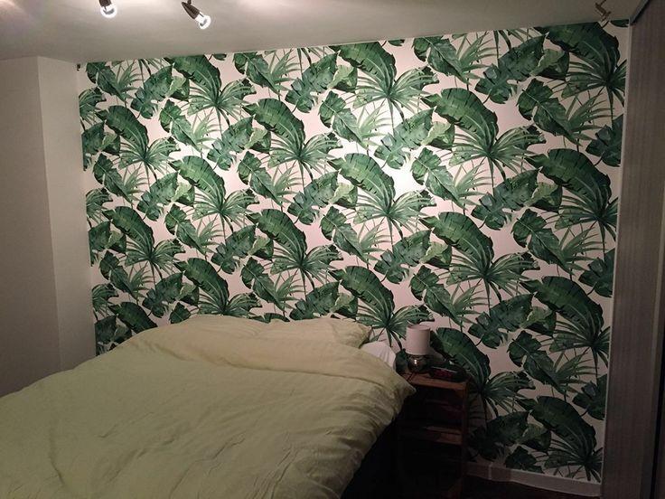 Deze slaapkamer met ons vrolijke behang uit de Designed for Living collectie door Deco Home Peter Kok - BN Wallcoverings
