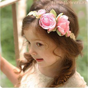 Повязка на голову «Daisy» - Time-Flowers.ru - интернет-магазин авторских аксессуаров - Ярославль