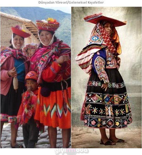 Peru Geleneksel Kıyafetleri