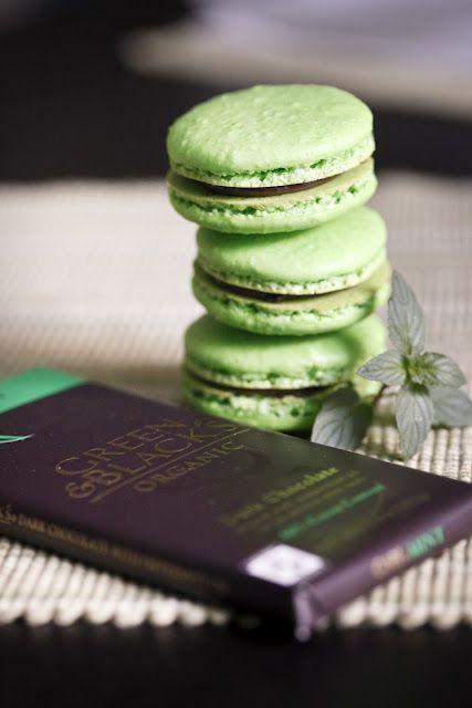 A Taste of Koko: After Dinner Mint Macarons