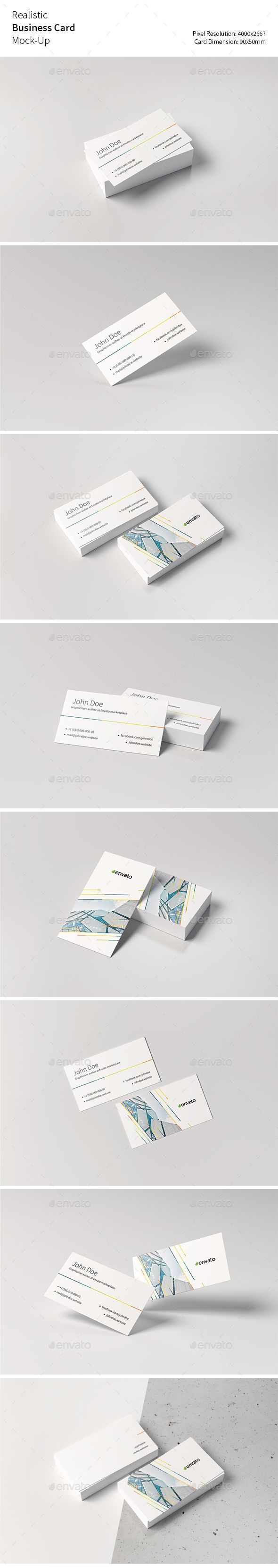 14 best business card design images on pinterest name cards realistic business card mock up reheart Gallery