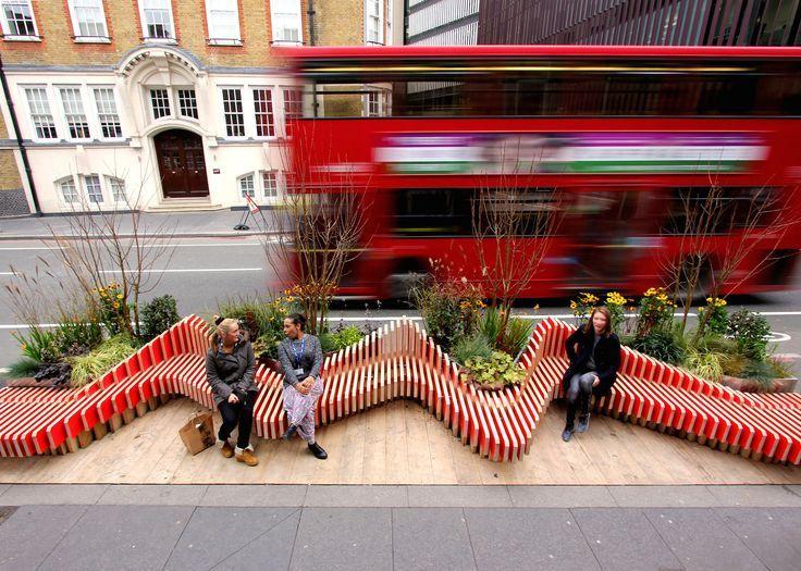 Mejores 10 imágenes de Parklet & Small Urban Greening en Pinterest ...