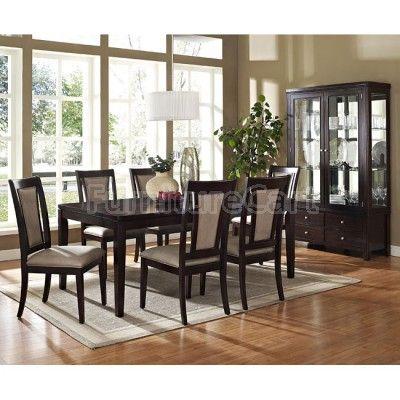 Shop For The Steve Silver Wilson Dining Set At Hudsons Furniture