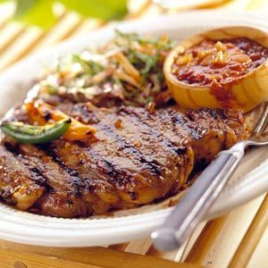 156 best rib eye steak recipes images on pinterest - Steak d espadon grille sauce combava ...