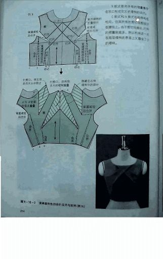 Chinese method of pattern making- Darts on a bodice - SSvetLanaV - Picasa Webalbums