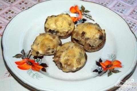 фаршированные грибы - Самое интересное в блогах