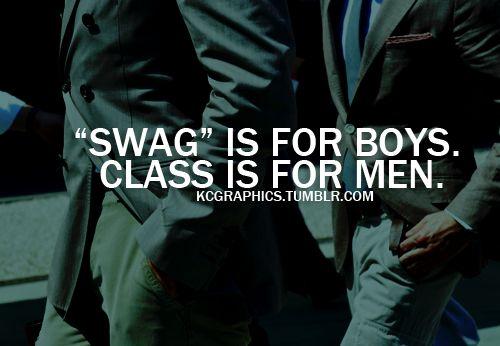 Gentlemen Have Class