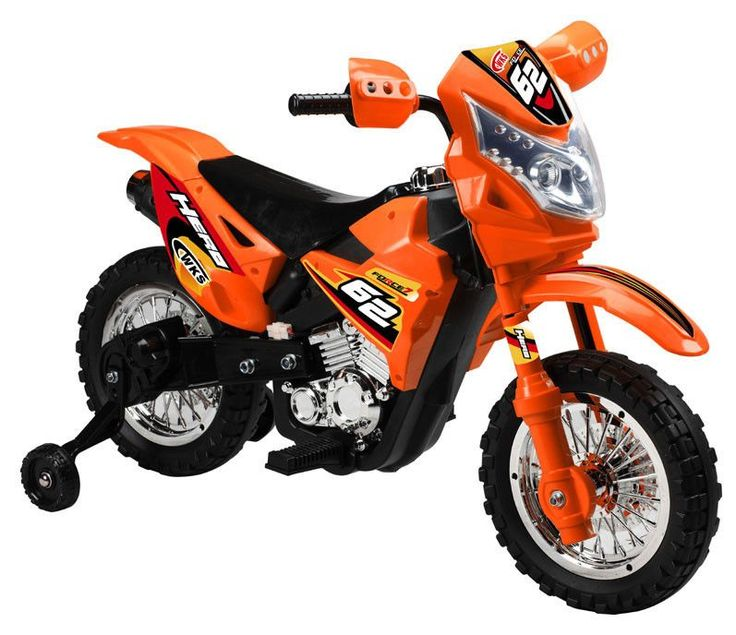 This dirt bike will bring excitement to every kids play time, while taking kids…
