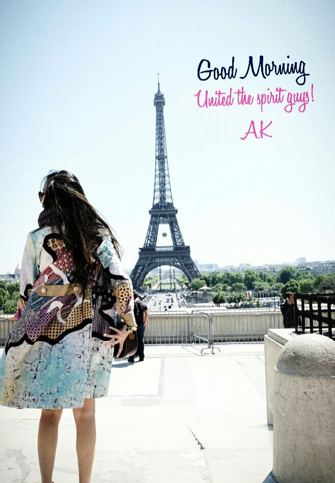 Im in love with Eiffel tower, wish to have my own Fashion show there soon,