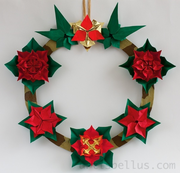 17 best images about origami kerst on pinterest for Decoration origami