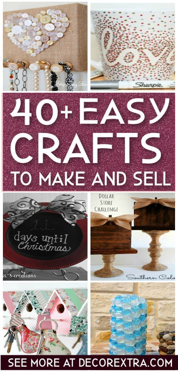 40 Amazing Crafts To Make And Sell Money Making Crafts Easy