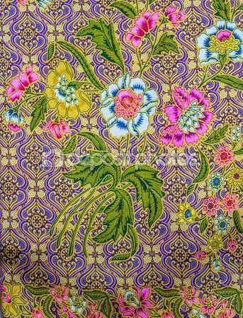 Maleisië batik patroon — Stockbeeld #32483281