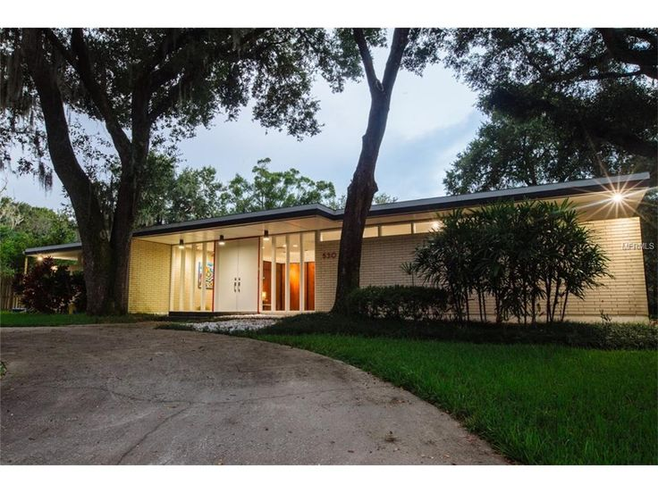 530 S RIVERHILLS DR, TEMPLE TERRACE, FL 33617 (MLS # T2835355. Temple  TerraceMid Century HouseHomes ...