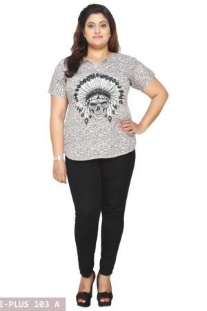 Plus Size Short Tunic
