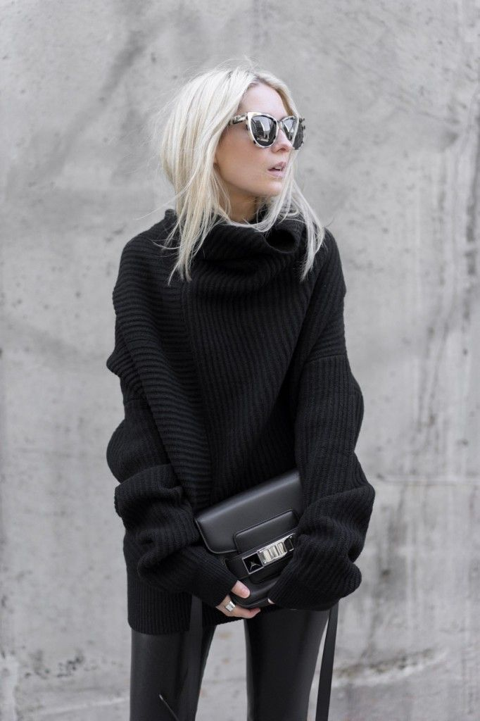 Wrap up warm and stay stylish this season with oversized knitwear.