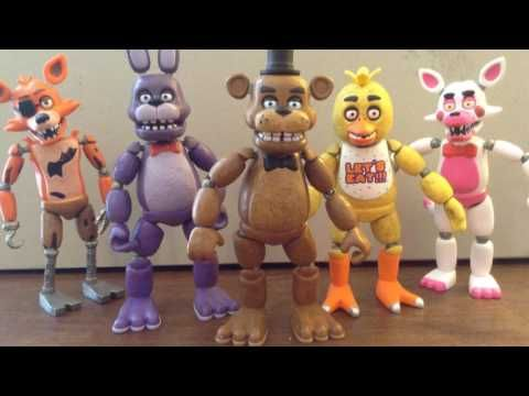 FNaF 4 Song (TryHardNinja) - Stopmotion Animation PREVIEW - YouTube