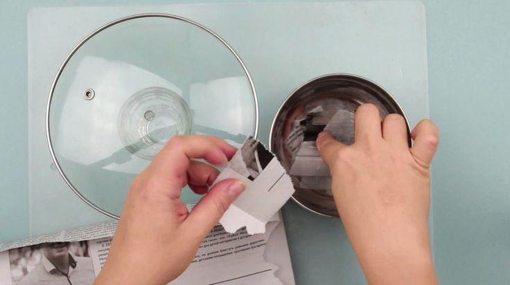 DIY Eggshell Mosaic Plate Wall Decor