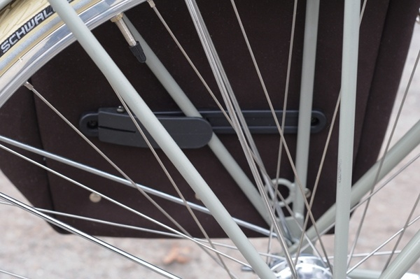 Philosophy Burnside Pannier, Lower Attachment by Lovely Bicycle!, via Flickr