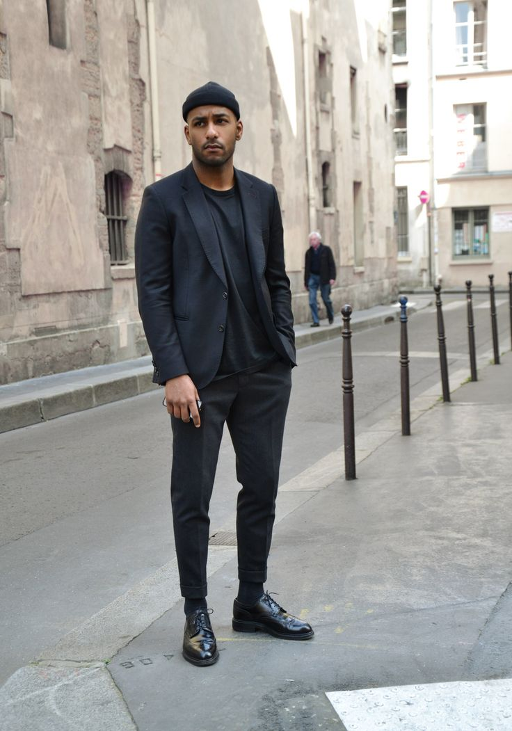 Gq Style Street Style All Black Everything Street