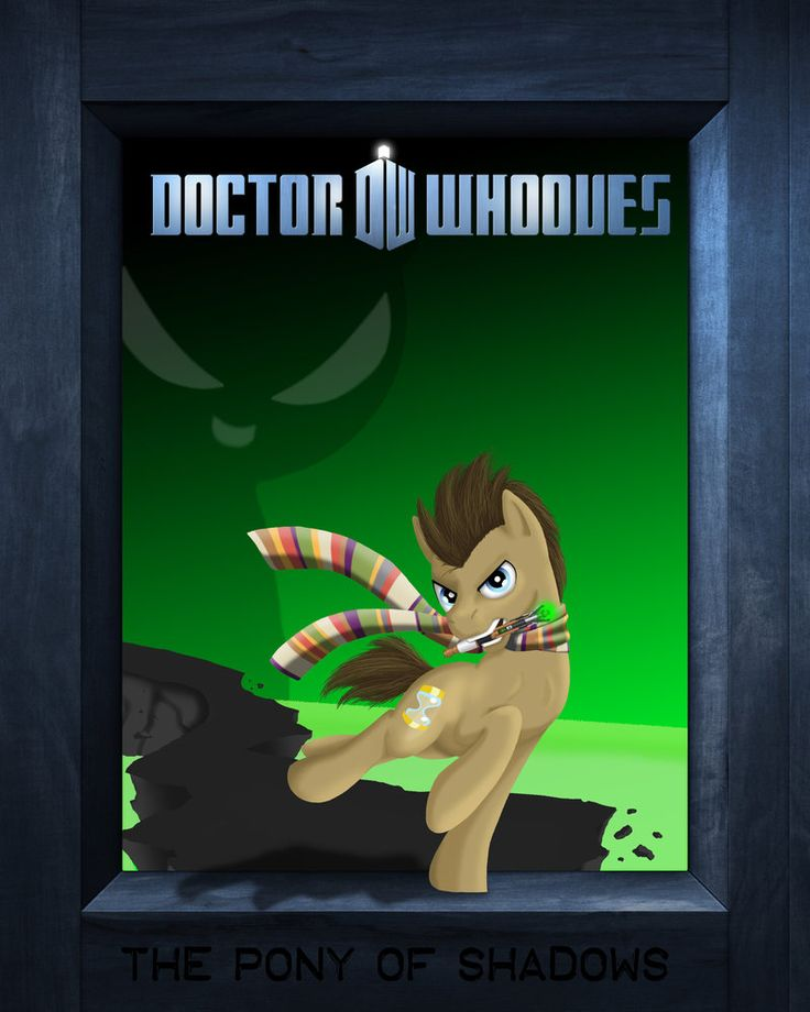 Doctor Whooves: The Pony of Shadows New Cover by tsand106 on DeviantArt
